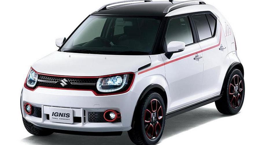 Suzuki IGNIS-Trail concept unveiled