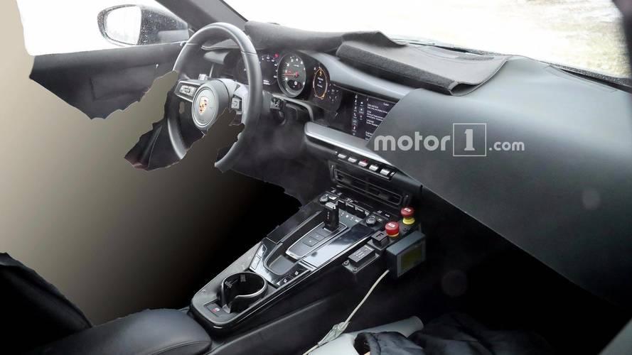 Next-Gen Porsche 911 Spied Showing Off Its Digital Instruments