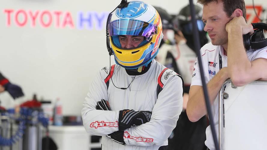 Fernando Alonso aux 24H du Mans avec Toyota