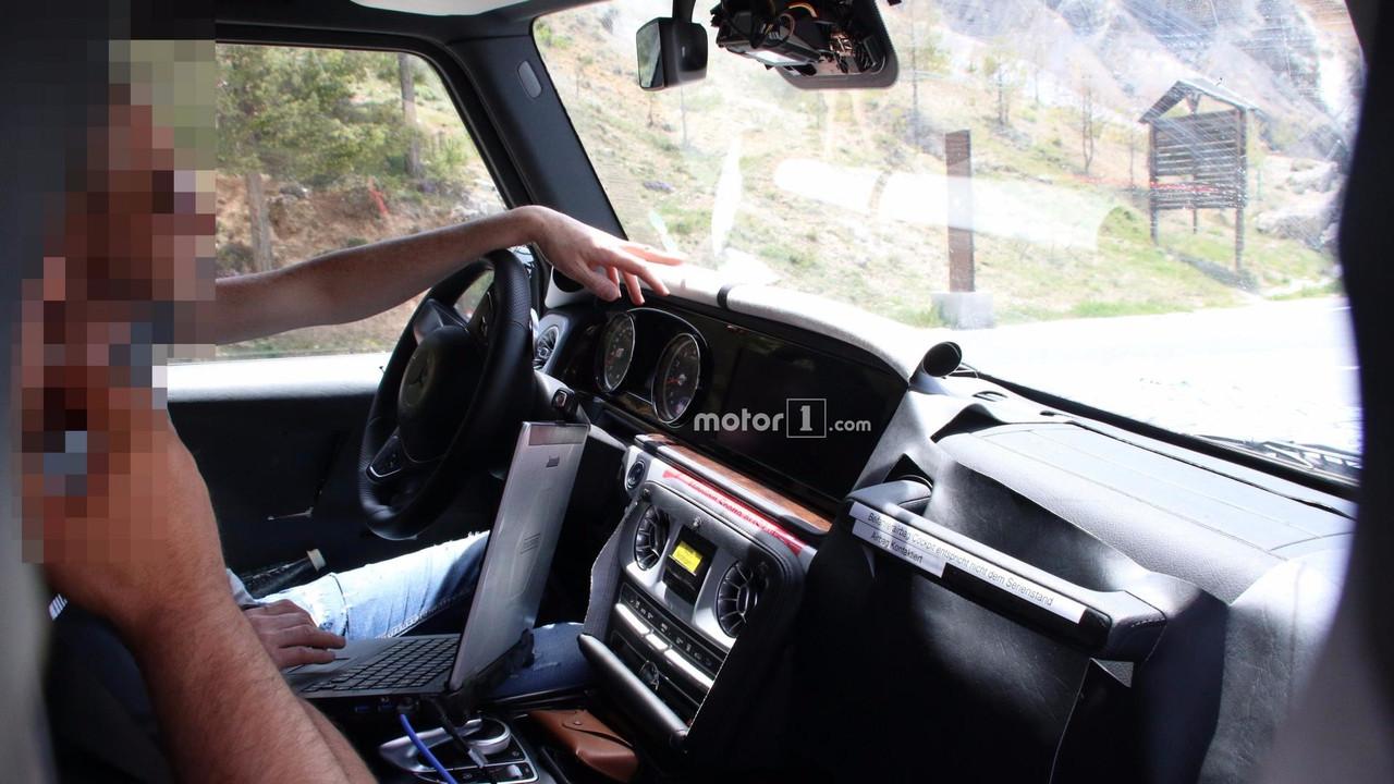 2018 Mercedes-AMG G63 spy photo