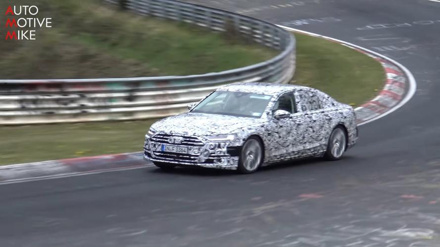 La nouvelle Audi S8 à l'assaut du Nürburgring