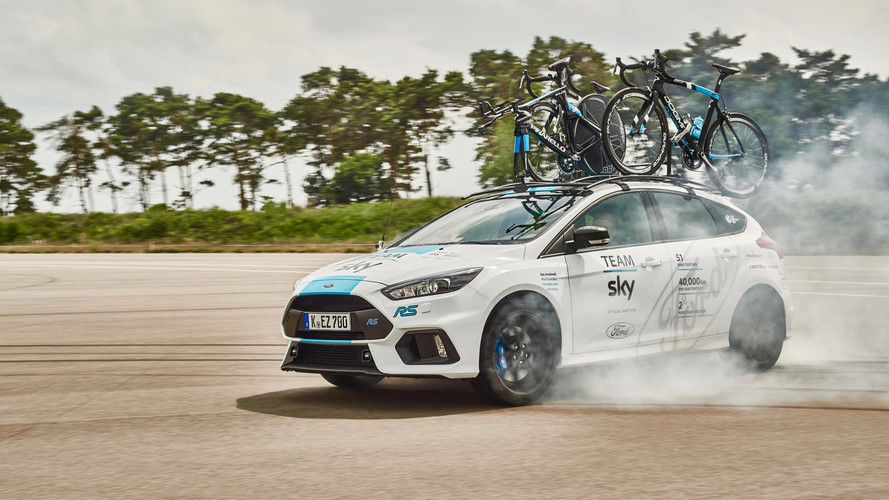 Ford Focus RS to Support Tour de France