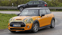 Mini Convertible and Cooper S facelift spy photos