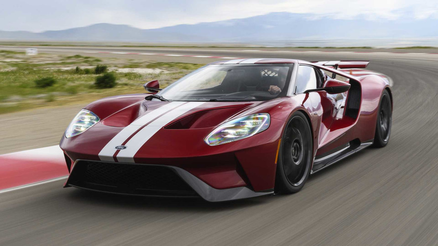 2017 Ford GT Sells For $1.815M At Auction