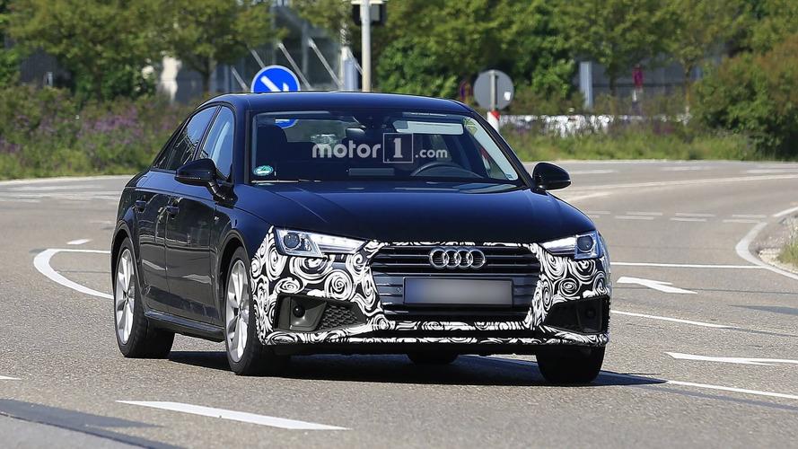 Audi A4 Sedan casus fotoğraflar