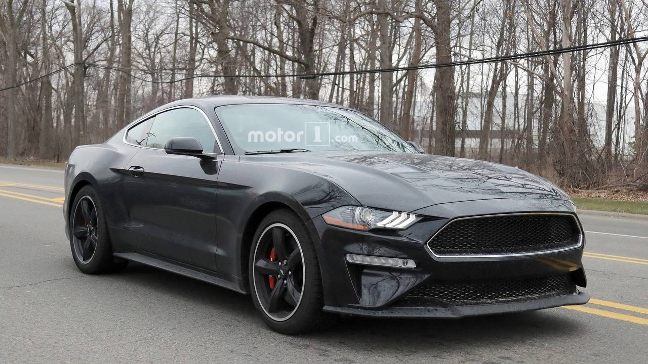 2019 Ford Mustang Bullitt Spied On The Street Update