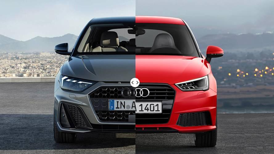 Audi A1 2018: comparativa con su antecesor