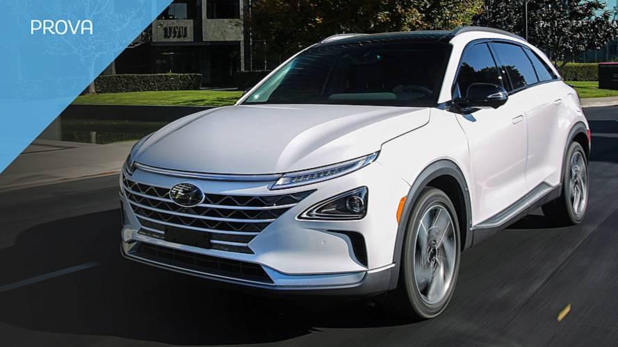 Hyundai Nexo, l'auto a idrogeno di serie più veloce del mondo