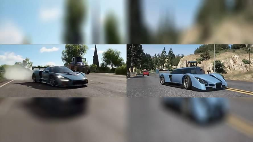Forza Horizon 4 trailer is incredibly recreated in GTA V