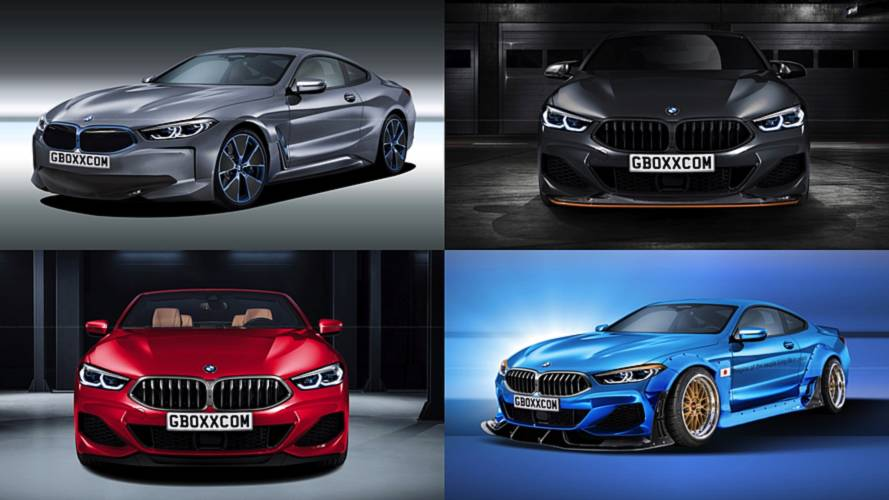 8 Renderings That Imagine A Fantastic Future For The BMW 8 Series