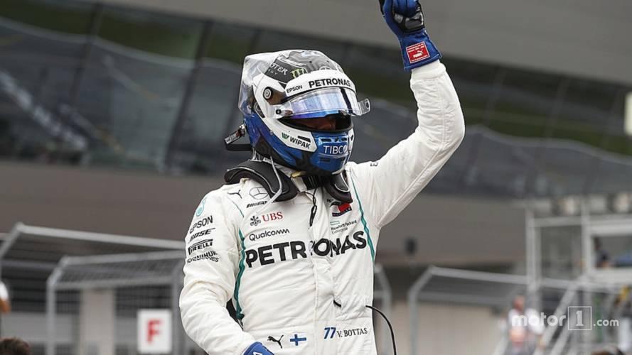2018 F1 Avusturya GP: Mercedes yine ön sırayı kapattı