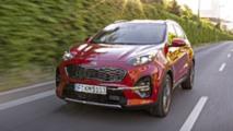 Kia Sportage mit 48-Volt-Diesel-Mildhybrid Test