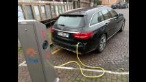 Mercedes C350e Station Wagon, test di consumo reale Roma-Forlì 016