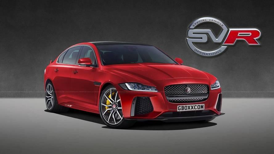 Jaguar XF'nin SVR versiyonu olsaydı nasıl olurdu?