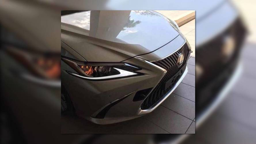 2019 Lexus ES Shows Its Face In Leaked Image Ahead Of Debut