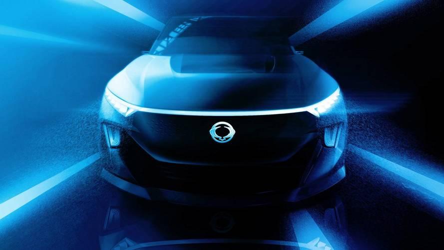 Ssangyong's new electric concept previews upcoming SUVs