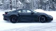 Porsche 911 Turbo Spy Photo