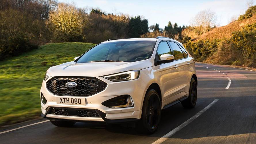 Ford reveals facelifted Edge SUV with new diesel engine