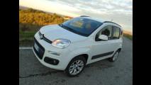 Fiat Panda a metano, test di consumo reale Roma-Forlì 016