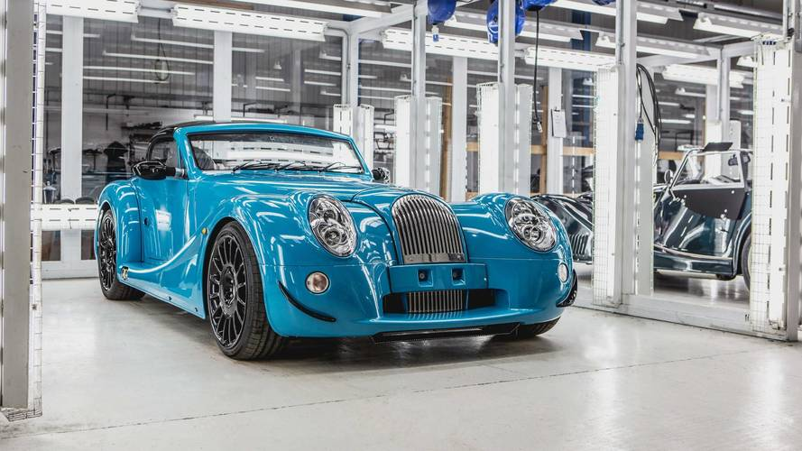 First Morgan Aero GT rolls off the production line in Malvern