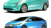 2016 Toyota Prius leaked image (not confirmed)