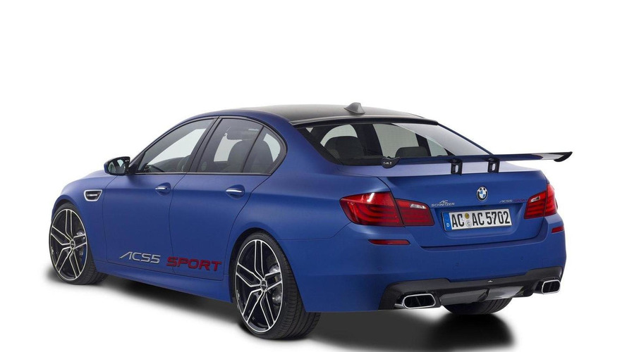 AC Schnitzer ACS5 photos released - tuned BMW M5 F10