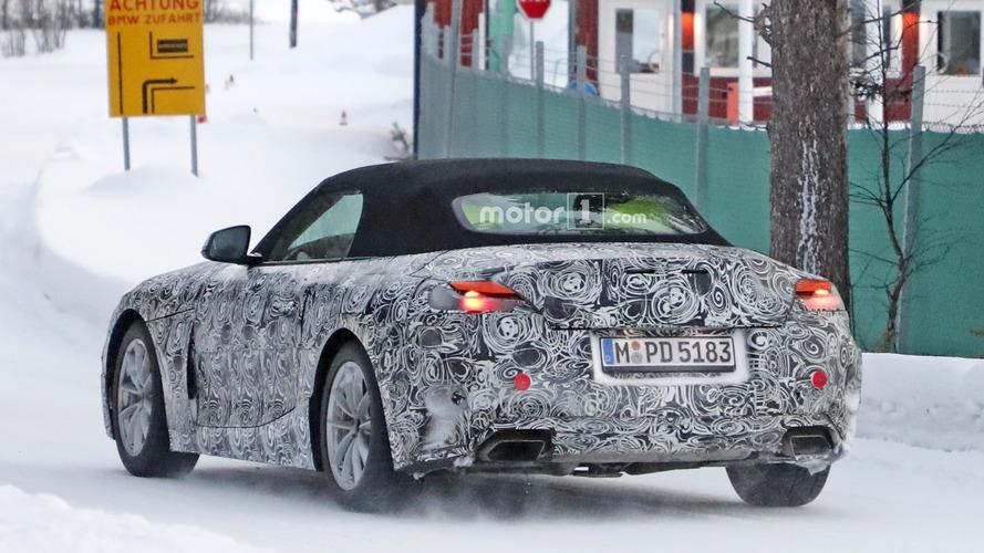 2018 BMW Z5 testlere farklı egzoz uçlarıyla çıktı
