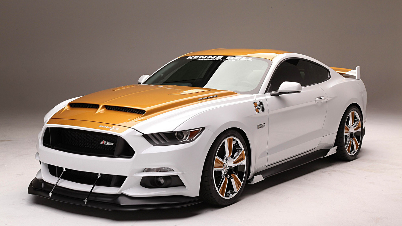 Supercharged 750 Hp Ford Mustang Puts On Flashy Suit For Sema