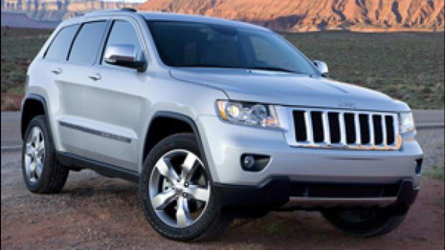 Chrysler richiama 860mila veicoli per un problema ai freni