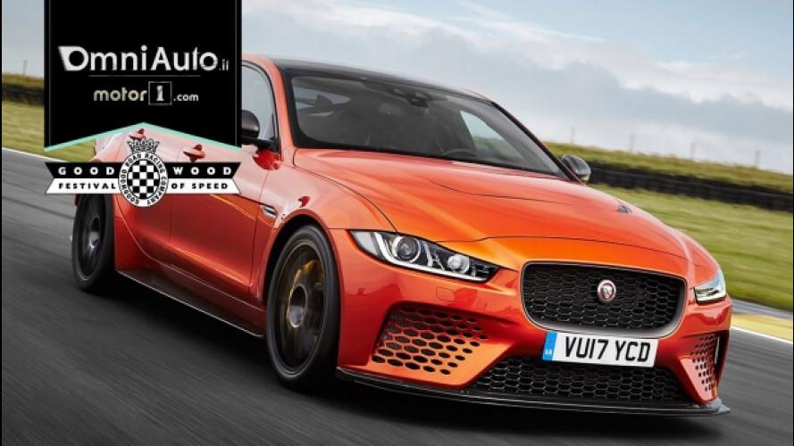 Jaguar XE SV Project 8, la super berlina da 600 CV