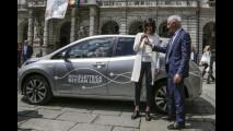 Una Nissan Leaf a Chiara Appendino