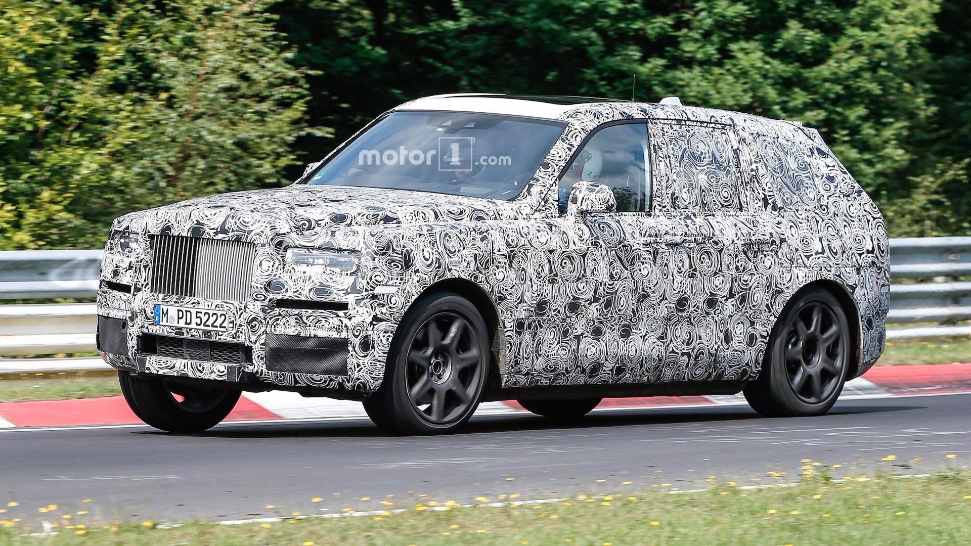 Rolls-Royce CEO Slams Bentley Bentayga As Audi Q7 In Camouflage