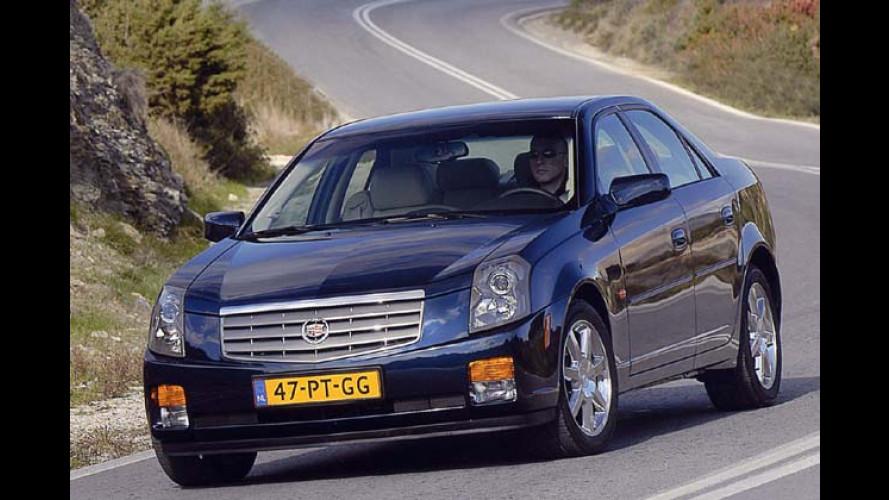 Erstarkt: Cadillac CTS mit zwei neuen Sechszylindern