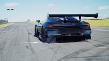 L'Aston Martin Vulcan sur Circuit