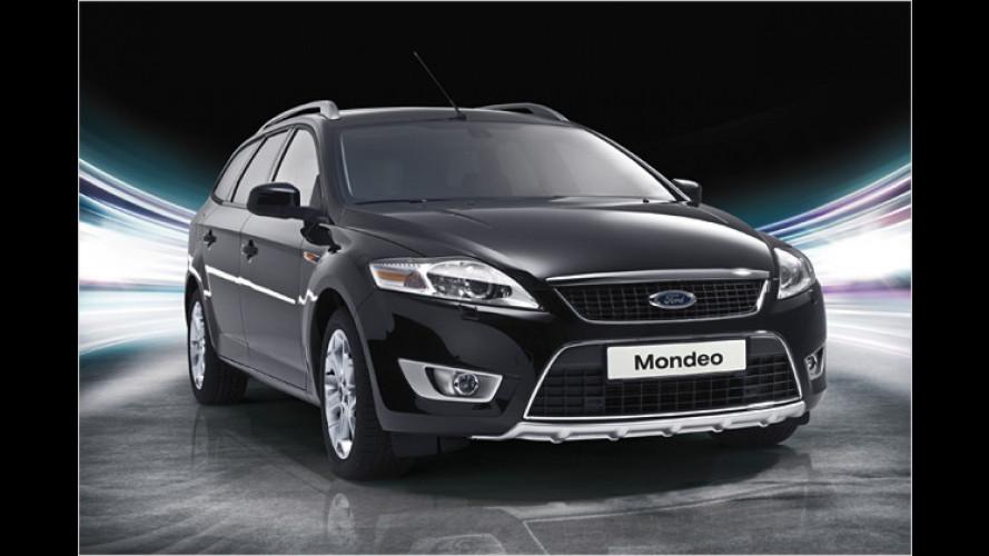 Limitiertes Editionsmodell: Der Ford Mondeo Turnier ,Sport