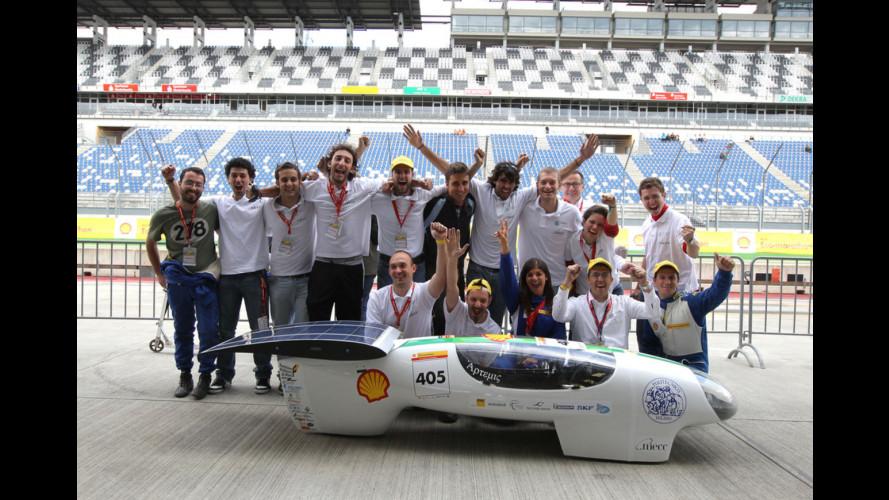 La Shell Eco-marathon Europe 2012 scende in strada