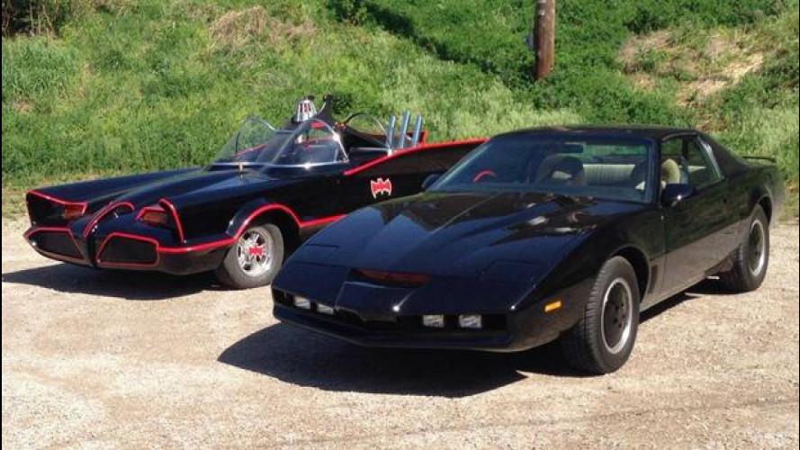 KITT, Batmobile e DeLorean: incredibile viaggio negli USA