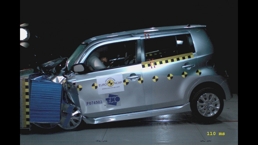 4 stelle EuroNCAP per la Daihatsu Materia