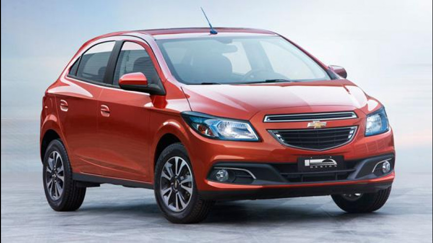 Chevrolet Onix, la sorellina brasiliana dell'Aveo