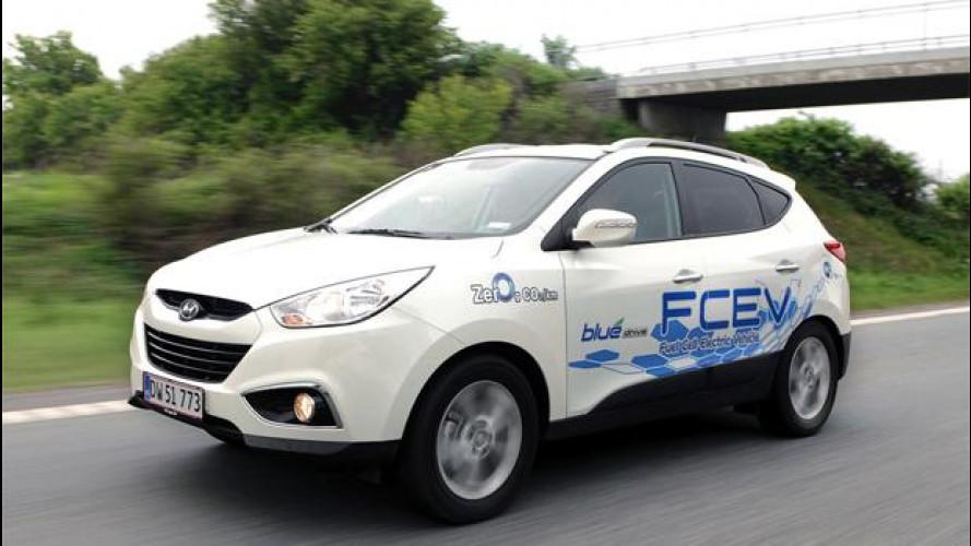 Auto ad idrogeno, le prime vetture circolano in Europa