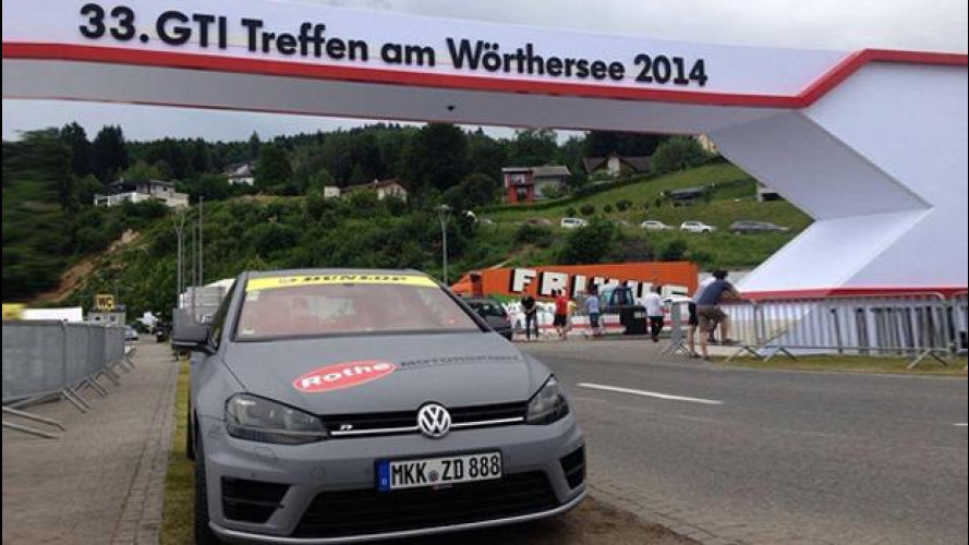 Wörthersee 2014, spazio al tuning Volkswagen