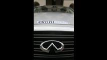 OmniAuto.it su Infiniti M35h al 3° Ecorally Press