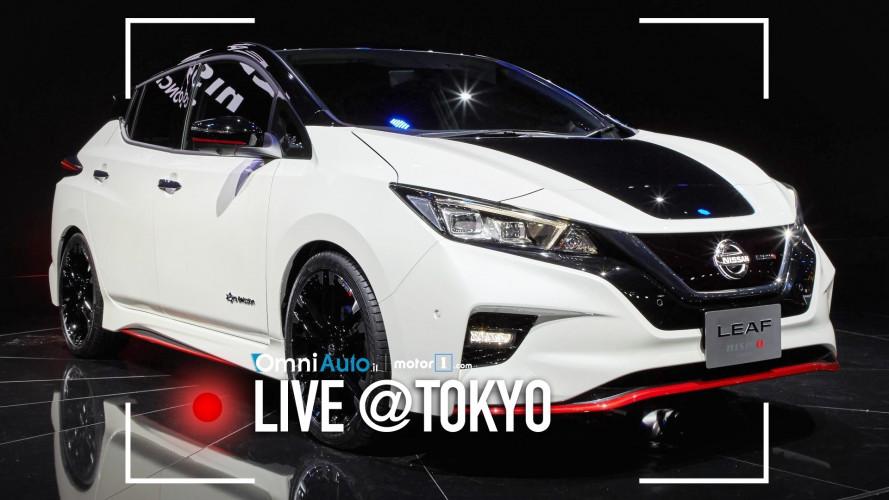Nissan Leaf Nismo Concept, elettrica e sfrontata