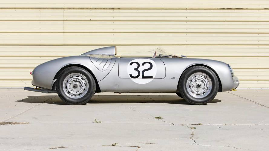 1958 Porsche 550A Spyder açık arttırmaya sunulacak