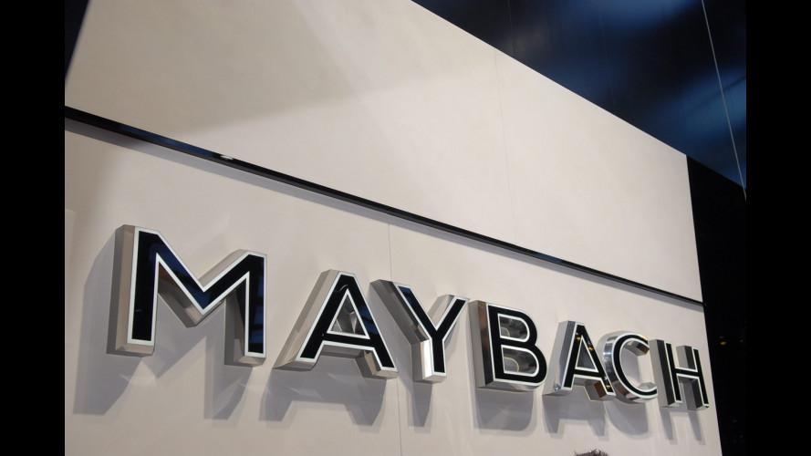 Maybach al Salone di Parigi 2010