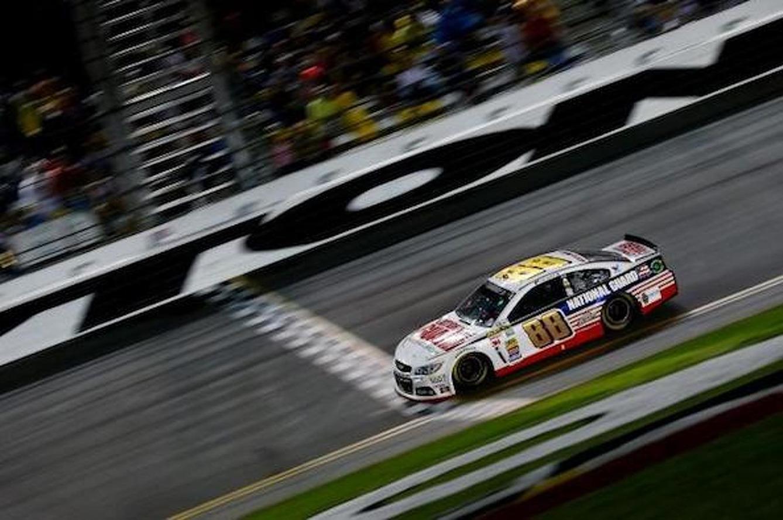 Dale Earnhardt Jr. Wins Second Daytona 500 After 6 Hour Rain Delay