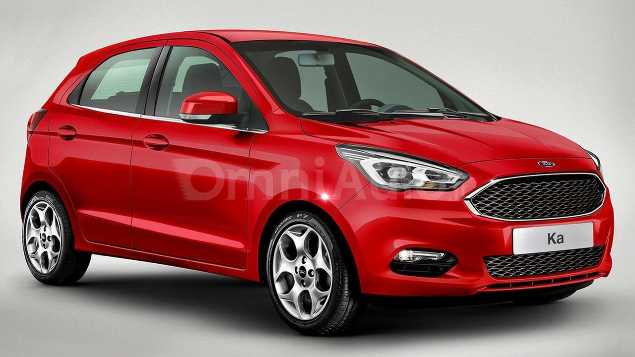 New Euro Spec Ford Ka Render