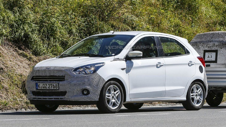 Euro Spec Ford Ka Spied Undergoing Testing