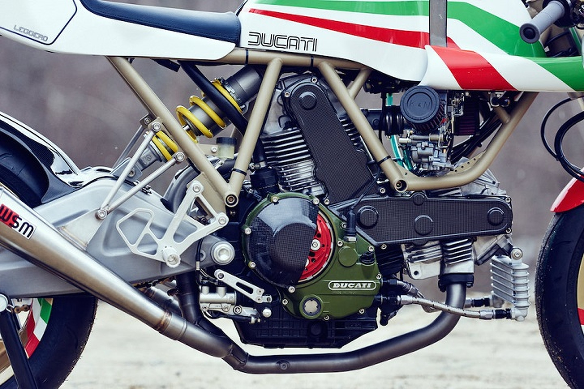 Intensely Detailed Custom Ducati Leggero is Gorgeous