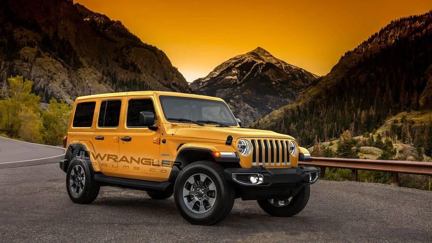 2018 Jeep Wrangler'a rengarenk tasarım yorumları